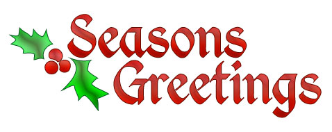 seasonsgreetingsholly