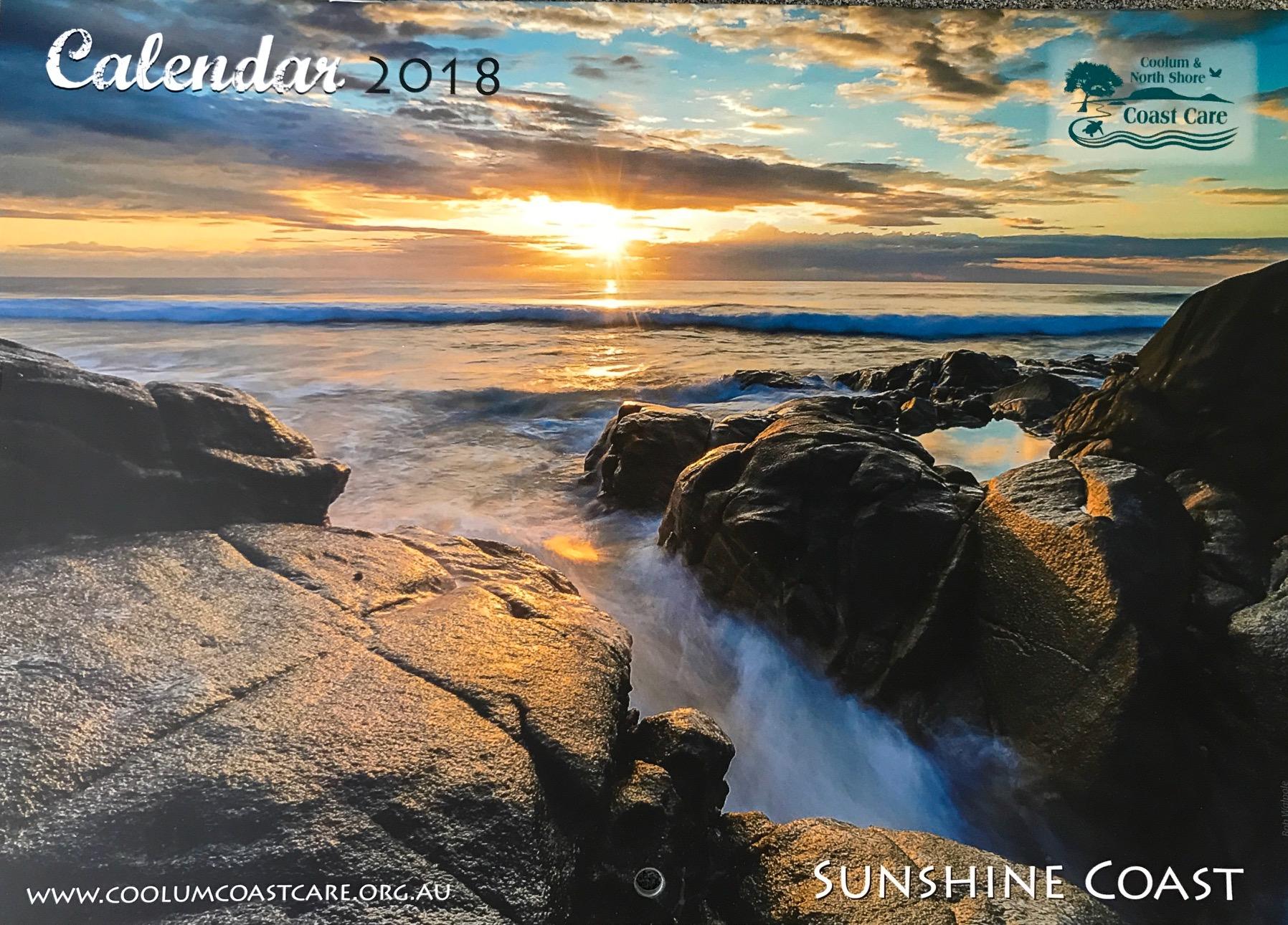 2018 Calendar Front